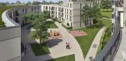 H.F. Bau führt als Bauunternehmen die erweiterten Rohbauarbeiten zum BV Gleisharfe in München - Neuaubing aus. Es handelt sich dabei um die Erstellung von 116 Wohneinheiten mit bogenförmigen Außenwänden.      Baubeginn für unser Bauunternehmen: Sept. 2016