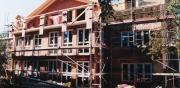 Komplettumbau zu einem Wohnhaus mit zeitgemäßer Architektur und Energiestandard