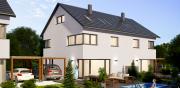 Neubau von 10 Atriumhäusern, 2 Doppelhäuser und 1 Einfamilienhaus in Olching