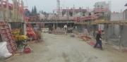 BV Putzbrunn - Neubau von 20 WE, 7 RH und Tiefgarage mit 57 Stellplätzen, Baubeginn: 06.09.2016