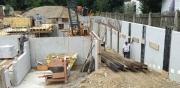 Neubau eines Wohnheimes in München - Giesing, Bauzeit Mai - Oktober 2016