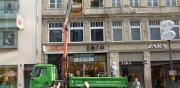 Umbau eines Modengeschäftes im Münchener Zentrum