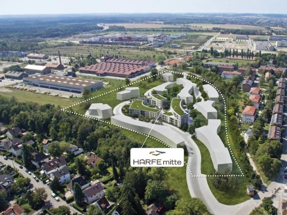 Neubauprojekt Gleisharfe in Neuaubing startet