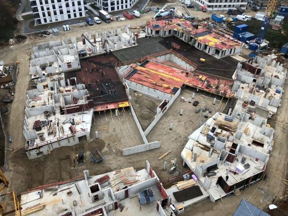 BV Aubing - Aktueller Bautenstand