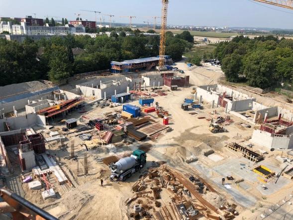 BV Aubing - Baubeginn erfolgt